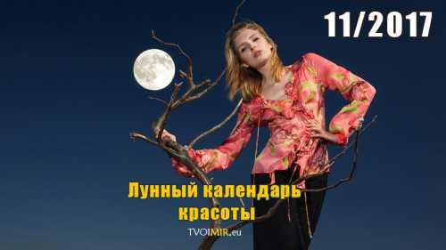 лунный календарь на ноябрь 2017 года: благоприятные дни